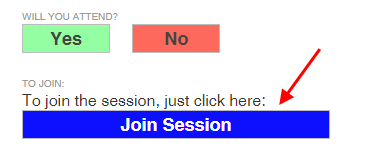 Screencap showing the Join Session button