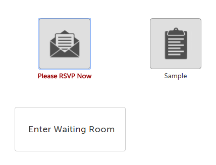 Enter Waiting Room button